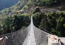 जोखिम रोक्न झोलुङ्गे पुल बन्द