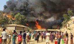 बङ्गलादेशको रोहिंग्या शिविरमा भएको आक्रमणमा सात जनाको मृत्यु