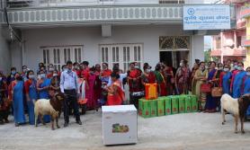 दुई करोड अनुदान बाड्दै महिला सामुदायिक लघुवित्त