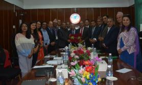 कृषि विकास बैंकद्धारा कर्जा लगानी गर्ने सम्झौता