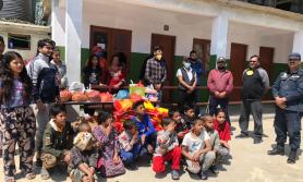 मातृ नेपाल अपाङ्गलाई त्रिशक्ति क्लबको राहत प्याकेज