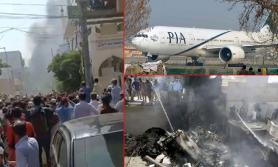गतहप्ता दुर्घटना भएको पाकिस्तानी विमानमा पैसाले भरिएका दुई झाला फेला परे