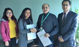 सिटिजन्स बैंक र टेस्ला डायग्नोस्टिक क्लिनिकबीच सहकार्य