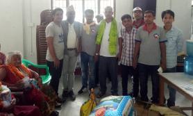 मुक्तिनाथ विकास बैंकको सहयोग
