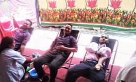देवः विकास बैंकको वार्षिक उत्सवको अवसरमा रक्तदान
