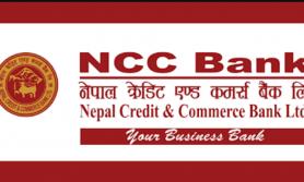 एनसीसी बैंकको शेयरमूल्य समायोजन, कतिमा ?