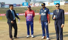 ३६ रनको लक्ष्य पाएकाे नेपाललाई दोस्रो झड्का, खकुरेलले खाता नखोल्दै आउट