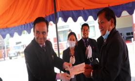 कोरोना कोषमा नेपाल बैकद्धारा १ करोड ५ लाख सहयोग