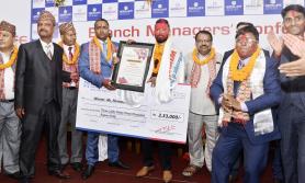 नेपाल लाइफको ब्रान्च म्यानेजर्स कन्फरेन्स, ३ लाखसम्मको पुरस्कार कर्मचारीलाई
