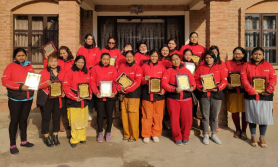 नारी दिवसमा पठाओद्वारा उत्कृष्ट २५ महिला राइडरलाई सम्मान