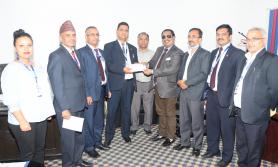 नेपाल इन्स्योरेन्सद्वारा एक लाख कोरोना बीमा दावी भुक्तानी
