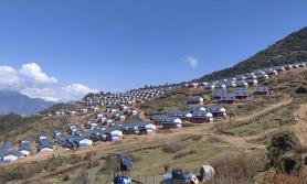 महाभूकम्पको केन्द्र विन्दु लाप्राकका एकीकृत बस्ती हस्तान्तरण