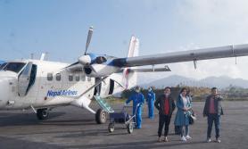 ताप्लेजुङ जान चाहनेहरुका लागि खुशीको खबर, शुरु भयो नेपाल एयरलाइन्सको उडान