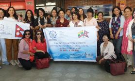 एस्सिडब्लुइसीले बर्मामा नेपाली उत्पादनको प्रदर्शनी गर्दे