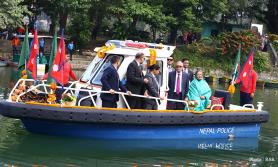 बंगलादेशका राष्ट्रपतिको फेवाताल यात्रा यस्ताे रह्याे