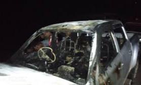 ३७ लाख ३० हजार रुपैयाँमा खरिद गरेकाे गाउँपालिका अध्यक्षकाे गाडीमा आगजनी