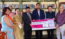 एनसीसी बैंकद्वारा बाल सुधार गृहलाई सहयोग