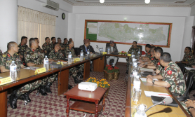 सीमा सुरक्षाका लागि नेपाली सेनामा अलग्गै संरचना