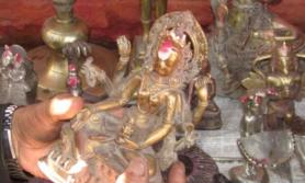 हराएको मूर्ति जंगलमा फेला पर्यो