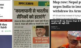 कालापानीबारे प्रधानमन्त्री ओलीले रवाफ देखाएकाे भारतीय मिडियाकाे आरोप