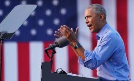 बाइडेनको पक्षमा ओबामा भोट भाग्दै