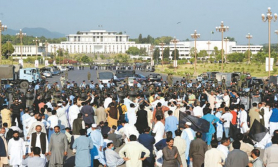 थोरै तलब वृद्धि गरेको भन्दै पाकिस्तानका कर्मचारी आन्दोलनमा