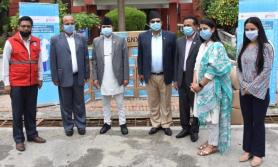 नेपाल रेडक्रस र कोका–कोला नेपालबीच साझेदार