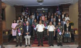 हिमाल सफाई अभियान २०२१ को लागि नेपाली सेनासँग हातेमालो