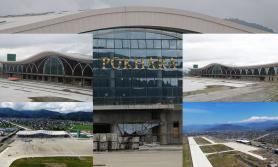 पोखरा विमानस्थल निर्माण कार्य ६२ प्रतिशत सकियो