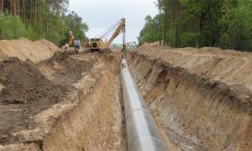 पेट्रोलियम पाइप लाइन परीक्षण गर्न पानी पठाइयो
