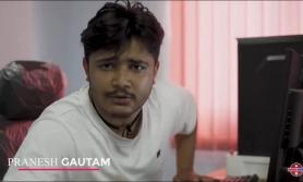 फिल्मको समिक्षा गर्दा युट्युबर गौतम पक्राउ