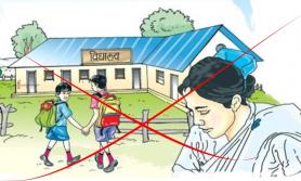 बालबालिलाई कोरोना संक्रमण बढिरहेका बेलामा विद्यालय सञ्चालन