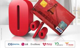 एन आई सी एशियाका क्रेडिट कार्ड बाहकले शून्य ब्याजदरमै किस्ताबन्दीमा सामान पाइने