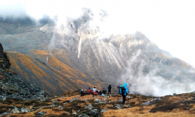 गौरीशङ्करको लुवाङसा–बुकुनी हुँदै कालोपोखरी–पाँचपोखरी रोमाञ्चक यात्रा