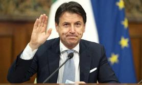 इटलीका प्रधानमन्त्री कोन्टेले दिए राजिनामा