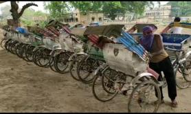 दश हजार रिक्सा चालक संकटमा, हातमुख जोड्नै सकस