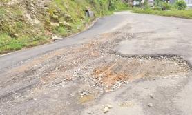 नाग्मा–गमगढी सडक स्तरोन्नतिका लागि बजेट अभाव
