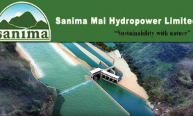 सानिमामाई हाइड्रोको खुद नाफा ५९ प्रतिशत बढ्यो