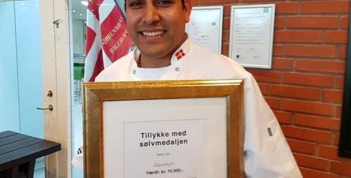 नेपाली मास्टर बेकर सन्जिव गिरीले जिते डेनमार्कमा एक लाख क्रोनर
