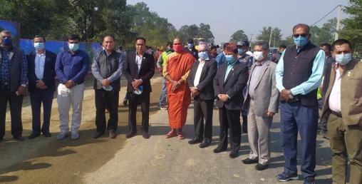 लुम्बिनीमा ७ अर्बको लगानीमा गुरुयोजनाको काम हुँदै