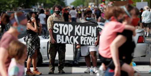 हिंसा भड्किएपछि अमेरिकाको ४० शहरमा कर्फ्यु, हजारौँ गिरफ्तार, पाँचको मृत्यु