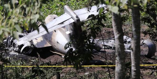 पूर्वी मेक्सिकोमा सैनिक विमान दुर्घटनाग्रस्त, छ सैनिकको मृत्यु