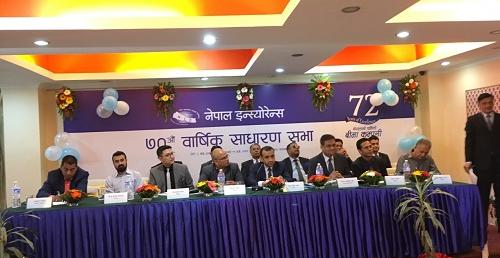 नेपाल इन्स्योरेन्सले पारित गर्यो बोनस शेयरको प्रस्ताव