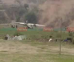 तार एयरको विमान रामेछापमा दुर्घटना