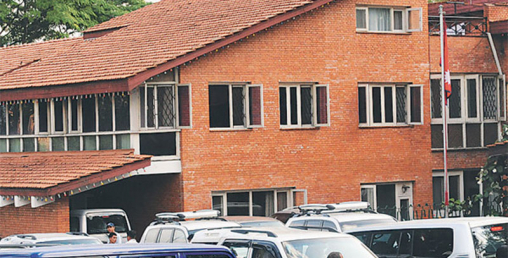 दोस्रो दिन पनि बालुवाटारमा निर्माण व्यवसायीको धर्ना जारी