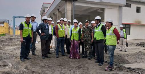फोहोर पानी प्रशोधन केन्द्रको आकस्मिक निरीक्षण, ३ महिना भित्र काम सकिने