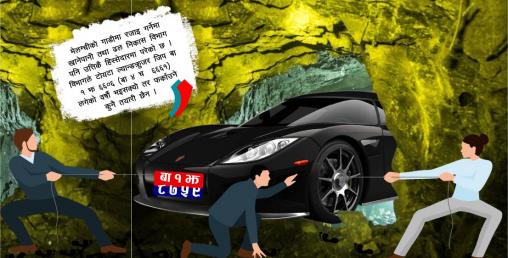 'कुन गाडी कति बेला कहाँ पुगेको हुन्छ थाह नै हुँदैन ', मन्त्रीले गाडी जंगलमै छोड्दिन्छन्