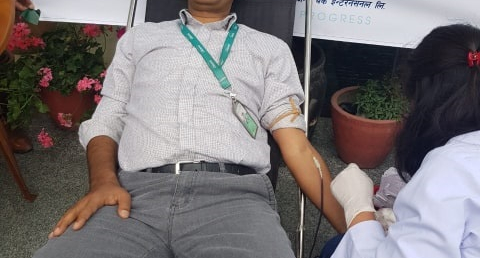 सिटिजन्स बैंकको रक्तदान कार्यक्रममा ५६६ जना सहभागी