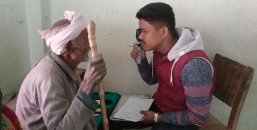 मेरोमाइक्रो फाइनान्सको एक दिने स्वास्थ्य शिविर