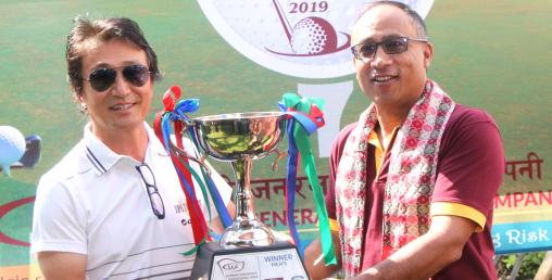 लुम्बिनी इन्सुरेन्स इन्टरनेशनल गल्फ टुर्नामेन्ट सम्पन्न